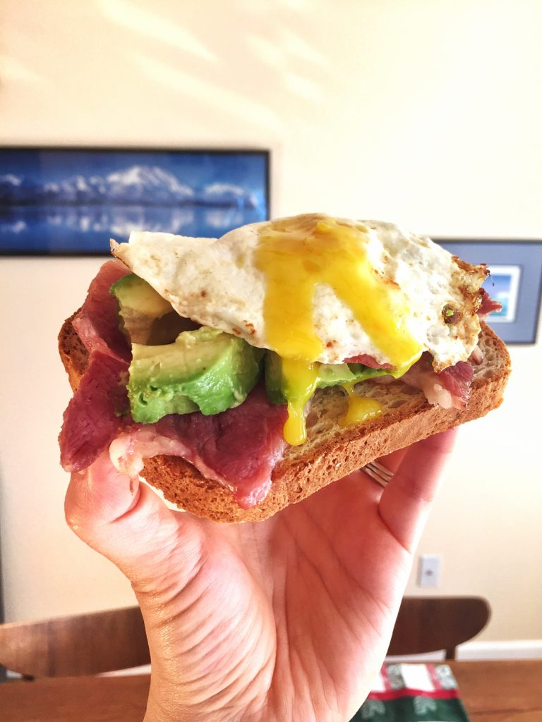 rose mattson - egg breakfast