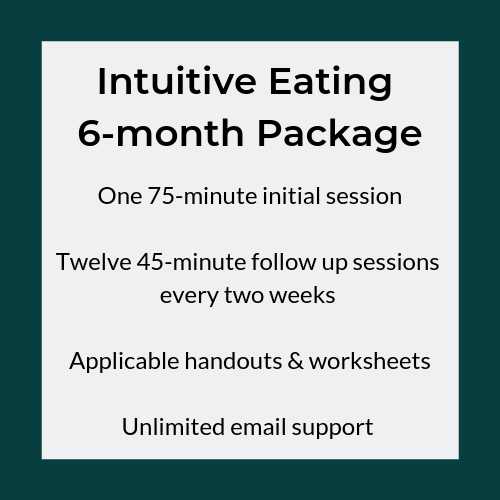 Intuitive Eating 6-month Package (1)