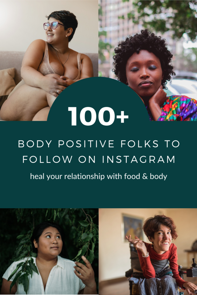 100+ body positive folks to follow on instagram